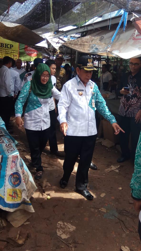 Kunjungan Walikota Bersama Kabid P3JU