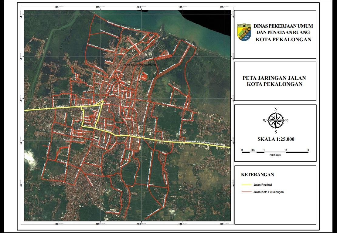 Peta Jalan Pekalongan