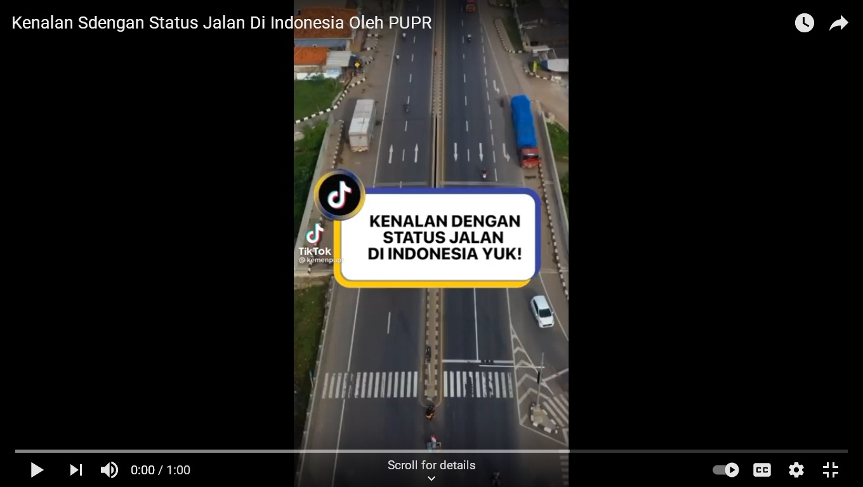 Status Jalan Indonesia